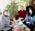 N. Khomich, the librarian of Occupational Therapy Rehabilitation Center № 4, and the employees of the library loan and ILL (interlibrary loan) departments of Vitebsk Regional Library